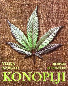 Naslovnica monografije Velika knjiga o konoplji