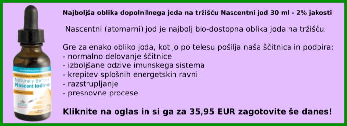 Povezava do naročila za dopolnilo Nascent Iodine
